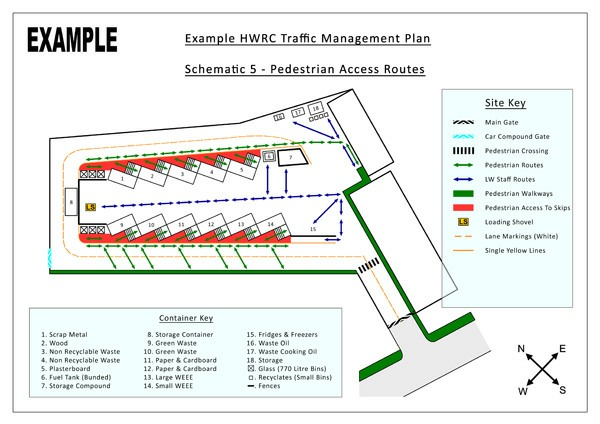 Traffic management plans site signage vehicle routes plant movements 4b9cddf9afeeg maxwellsz