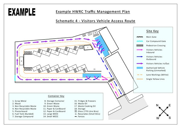Traffic management plans site signage vehicle routes plant movements a9f9aa91595eg maxwellsz